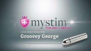 Mystim - Groovey George e-stim dildo