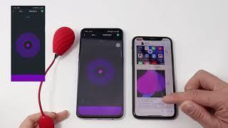 Виброяйцо с управлением при помощи смартфона MagicMotion Magic Sundae