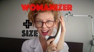 """Стимулятор для клитора Womanizer """"+Size"""""""