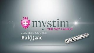 "Фаллоимитатор Mystim ""Bal(I)zac Balldildo"""