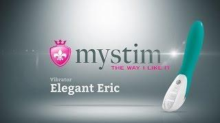 """Классический вибратор Mystim """"Elegant Eric"""" Green"""