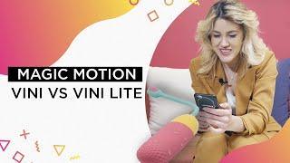 Виброяйцо с управлением при помощи смартфона MagicMotion Magic Vini