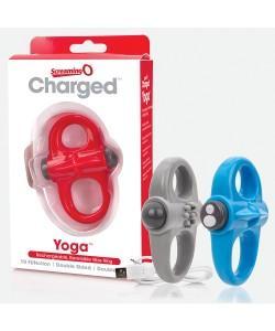 Виброкольцо CHARGED YOGA RING by Screaming O